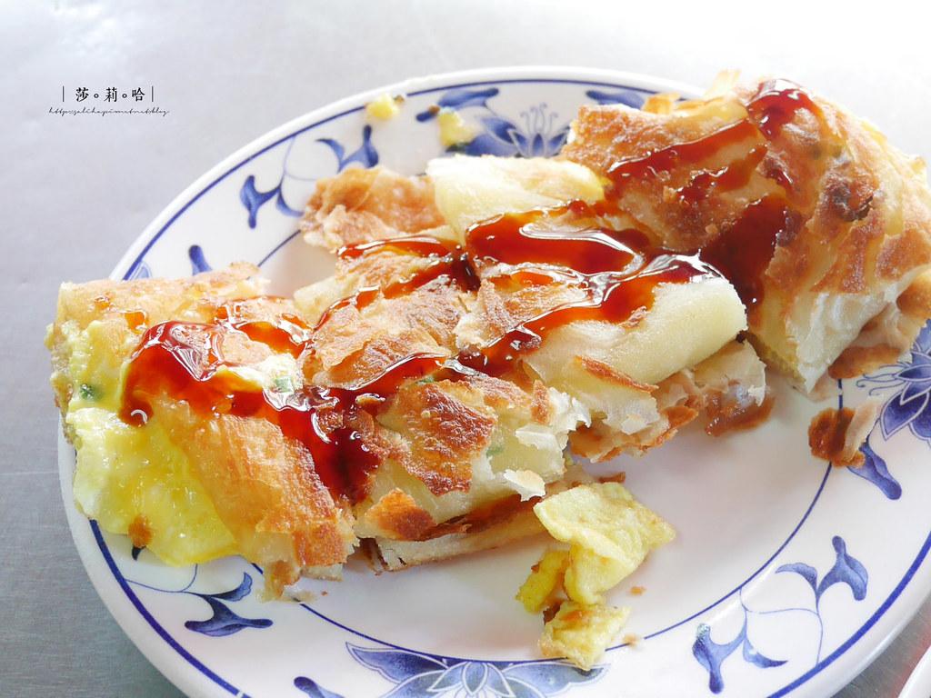 新北新店必吃美食小吃早餐店推薦旭達豆漿好吃脆皮酥皮蛋餅 (4)