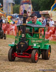 GRAHAM CHRIMES posted a photo:Images taken at various Steam Rallies.Foden SWB 4 1/2 inch scale miniature 'Callie', reg no SN12 DVX.