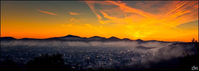 The dawn....