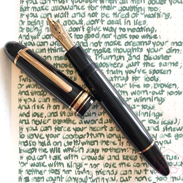 Montblanc Writer's Edition Homage to R. Kipling Jungle Green Ink 12_RWM
