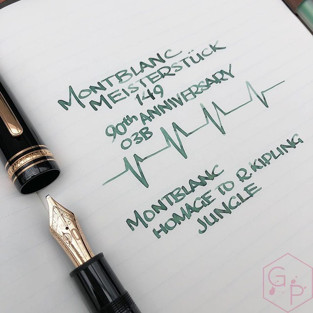 Montblanc Writer's Edition Homage to R. Kipling Jungle Green Ink 4_RWM
