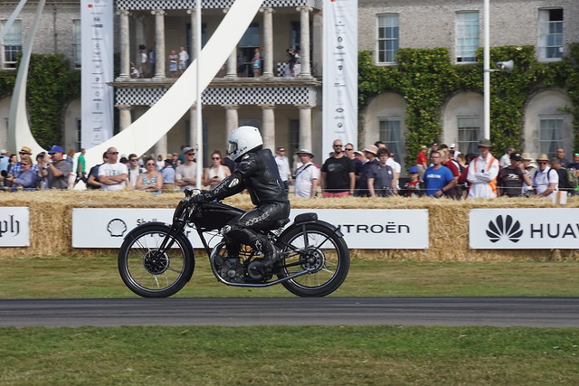 Rudge Ulster 499cc Single-Cylinder Four-Stroke 1934, Classic Racing Motorcycles, Speed Kings, Motorsport's Record Breakers, Goodwood Festival of Speed