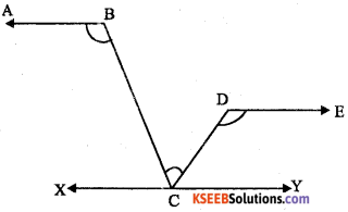 KSEEB Solutions for Class 8 Maths Chapter 3 Axioms, Postulates and Theorems Additional Questions 11