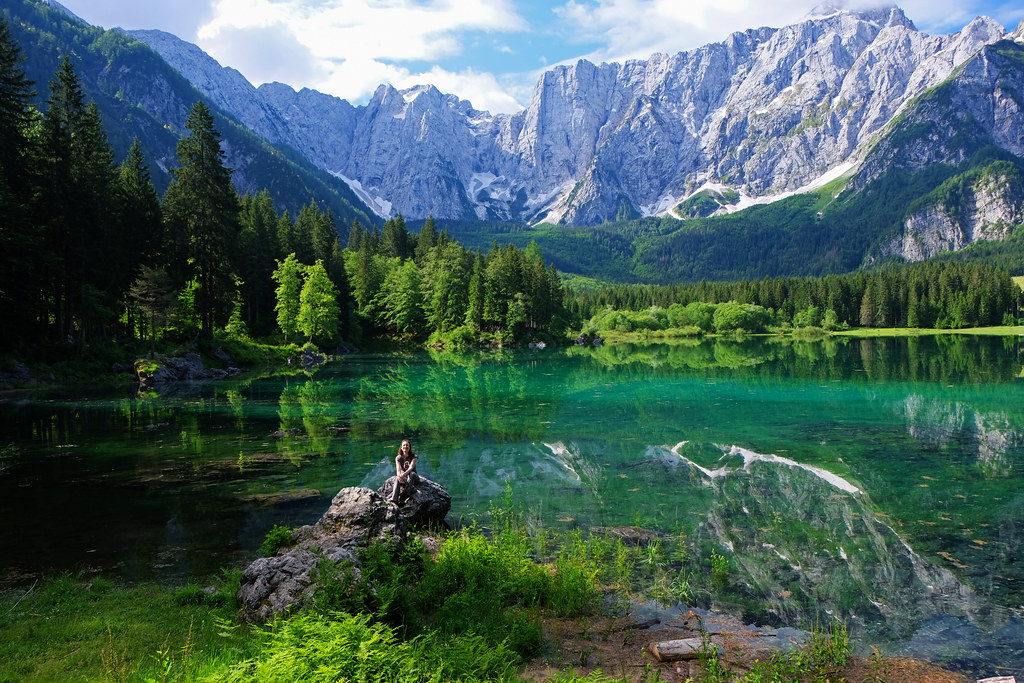Laghi di Fusine, Julian Alps, Italy