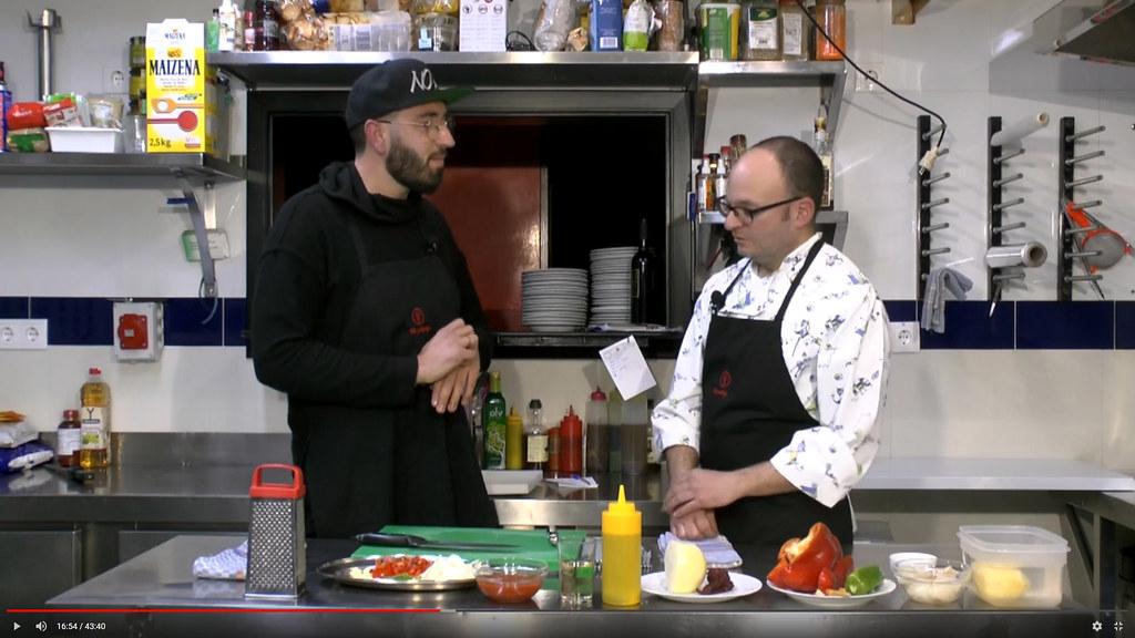 Cocinando con… Rafa Barrios