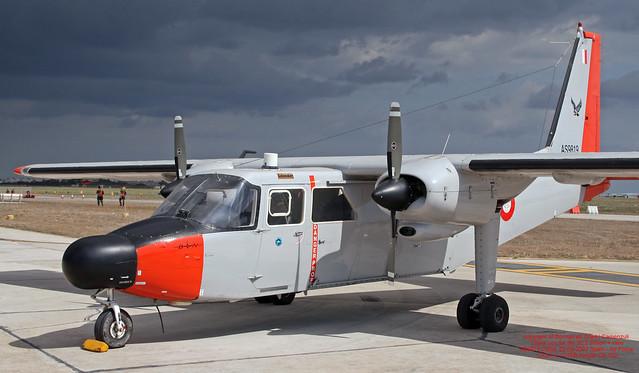 AS9819 LMML 22-09-2007 Malta - Armed Forces Britten-Norman BN-2T Turbine Islander CN 2156