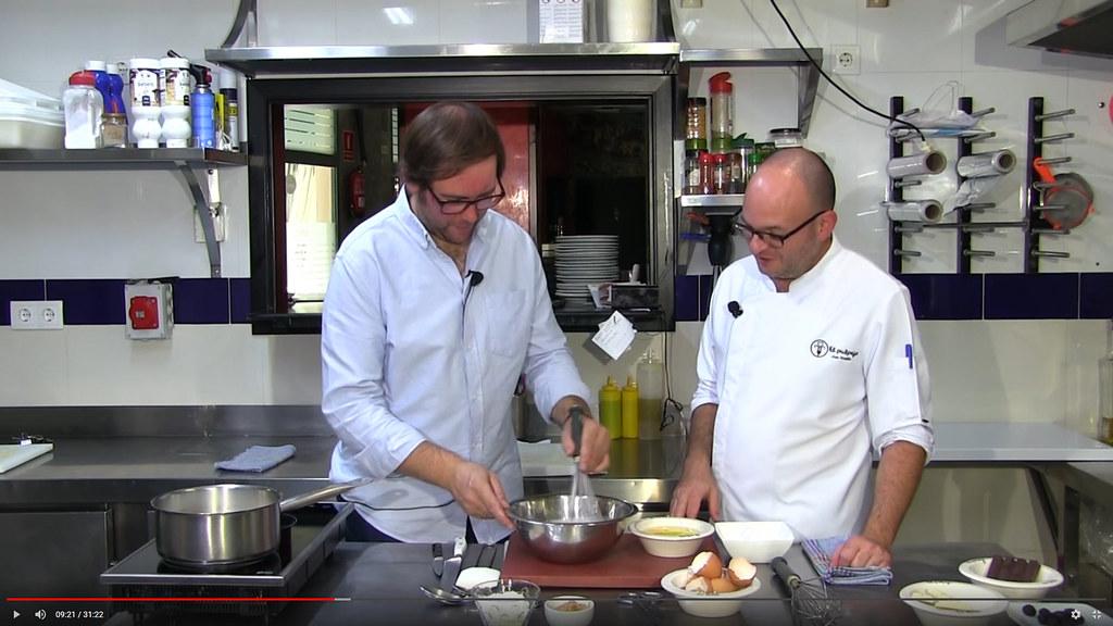 Cocinando con Silverio de Bodega Marazoca