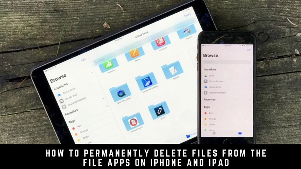 How to Permanently Delete Files from the File Apps on iPhone and iPad