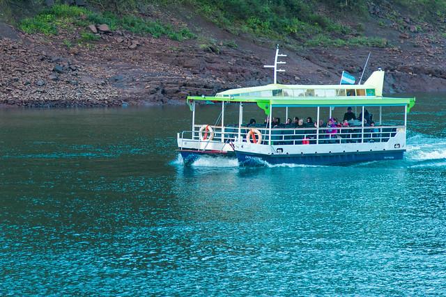 Misiones Pto. Iguazu TripleFrontera Catamaran Pasajeros Argentina
