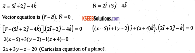 2nd PUC Maths Previous Year Question Paper June 2017 Q37