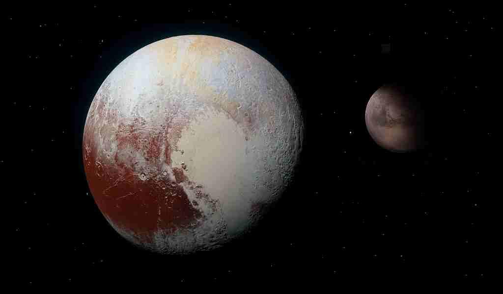 Les lunes de Pluton viendraient de Charon