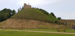 Clare Castle, Suffolk. NOrman Motte & Bailey, built 1090