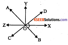 KSEEB Solutions for Class 8 Maths Chapter 3 Axioms, Postulates and Theorems Additional Questions 2