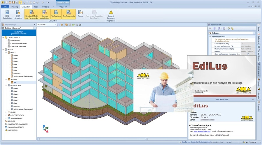 Working with ACCA EdiLus 30.00sf full license