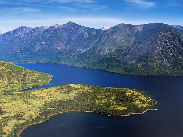 Imagen del Lago Baikal en verano