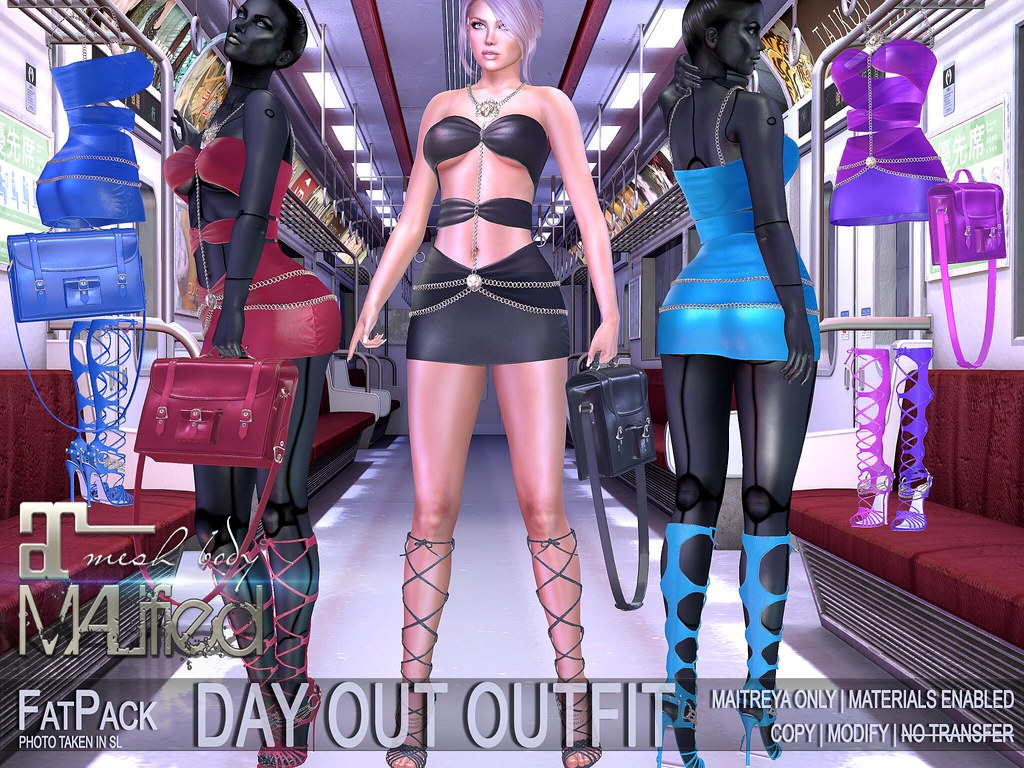 MALified – Day Out Outfits – FatPack