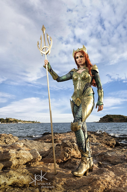 Kirke Cosplay's Mera (by SpirosK photography)