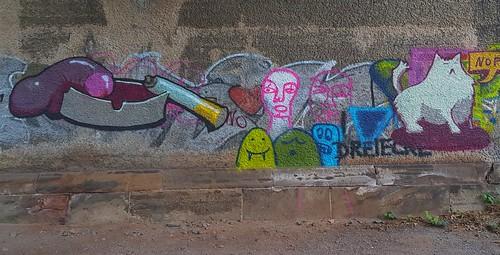 20200630 Graffitis in der Unterführung