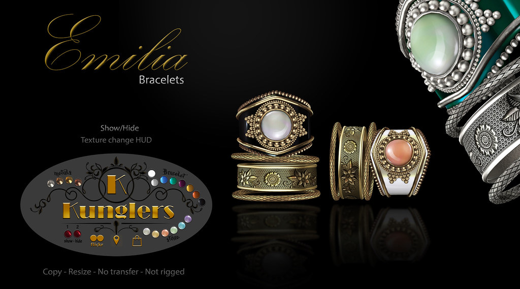 KUNGLERS – Emilia bracelet vendor