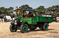 """GRAHAM CHRIMES posted a photo:Images taken at various Steam Rallies.Foden miniature 6"""" scale C-type steam wagon, built in 2001 reg no SSU 173."""