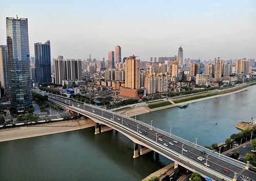 Une panoramiche di Wuhan