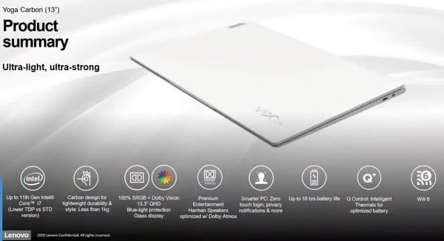 Lenovo Yoga Carbon