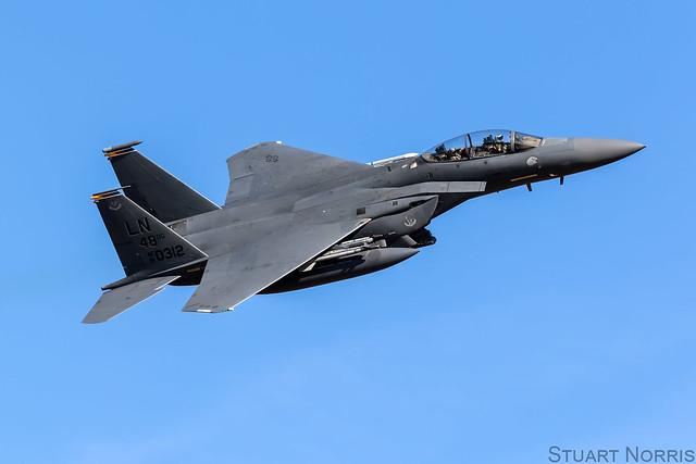 F-15E Strike Eagle 91-0312 - 48th Fighter Wing RAF Lakenheath