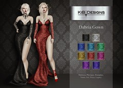 KiB Designs - Dabria Gown @Darkness Event