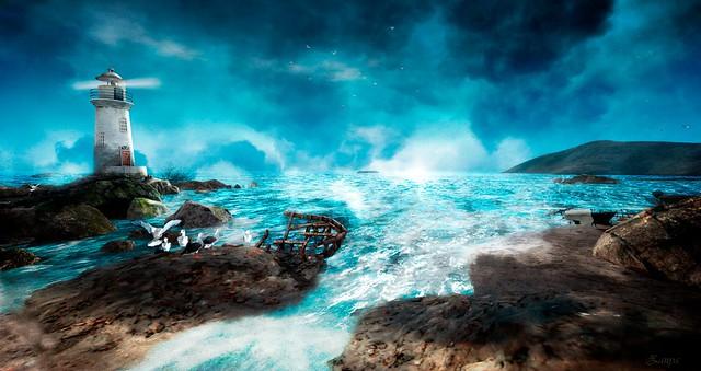 Listen the sea