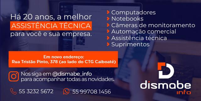 Dismabe Info em novo endereço em São Gabriel