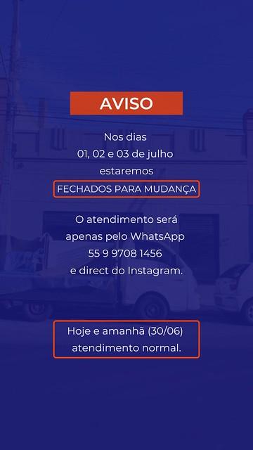 Aviso - Dismabe Info
