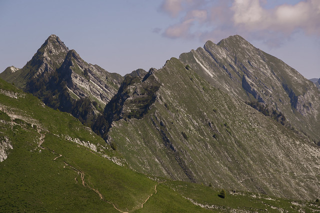 Autour du rocher de Naye - Suisse