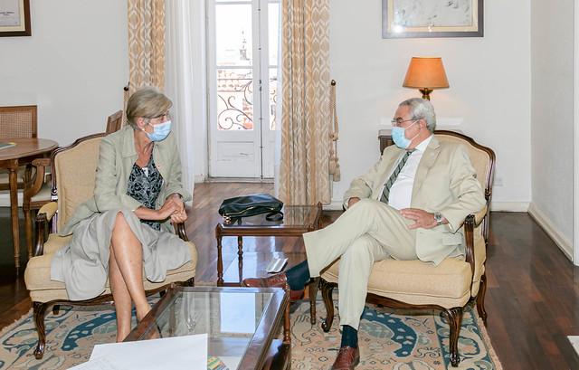 20.06. Secretário Executivo recebe Embaixadora da Espanha em Portugal
