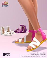 [Sheba] Jess Sandals