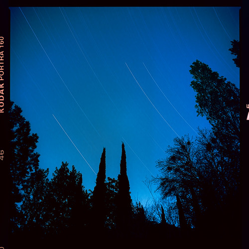 Star trails on film | by Graham Gibson