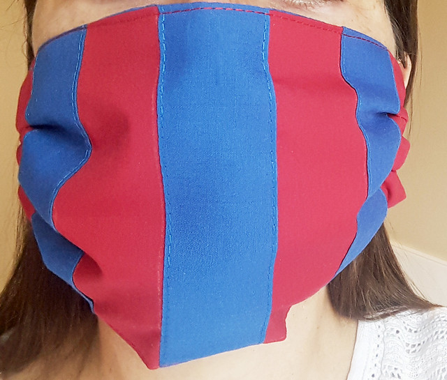 Red and Blue Mask 002a