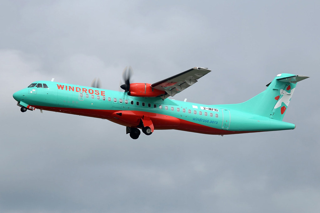 Windrose Airlines ATR.72-600, 2-MFIG.