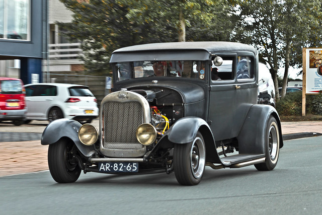 Ford Model A Tudor Sedan Hot Rod 1928 (9784)