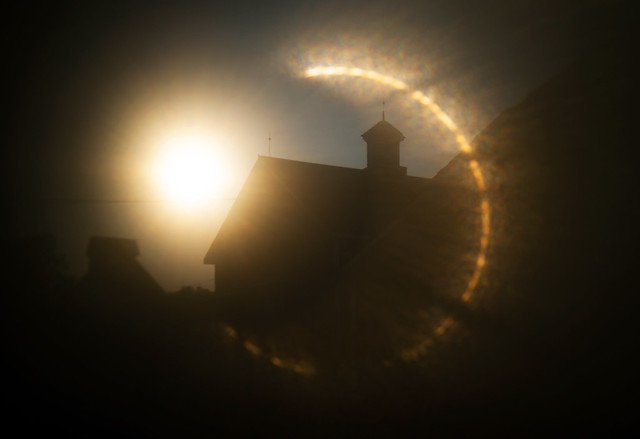 Sun Ring and Barn
