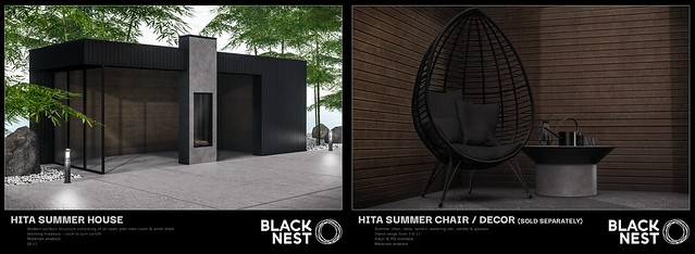 BLACK NEST / Hita Outdoor Collection / FaMESHed