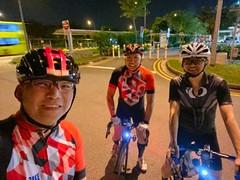 Night ride 29 June