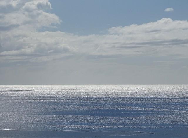 La mer est le miroir du ciel