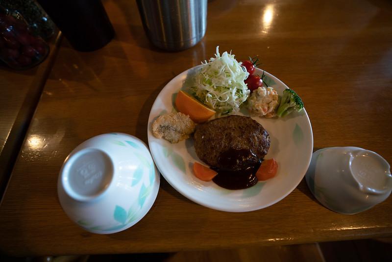 槍ヶ岳山荘の夕食