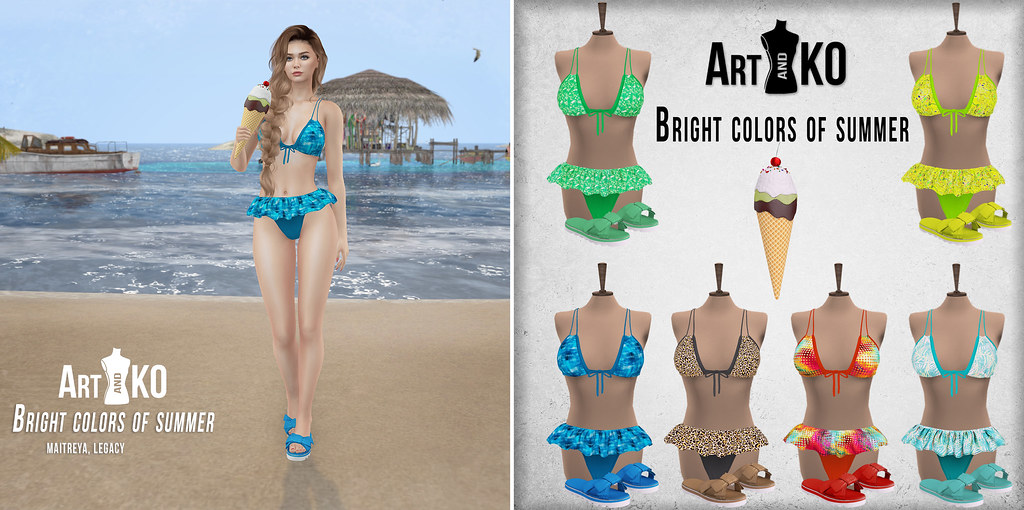 Art&Ko – Bright colors of summer – TLC