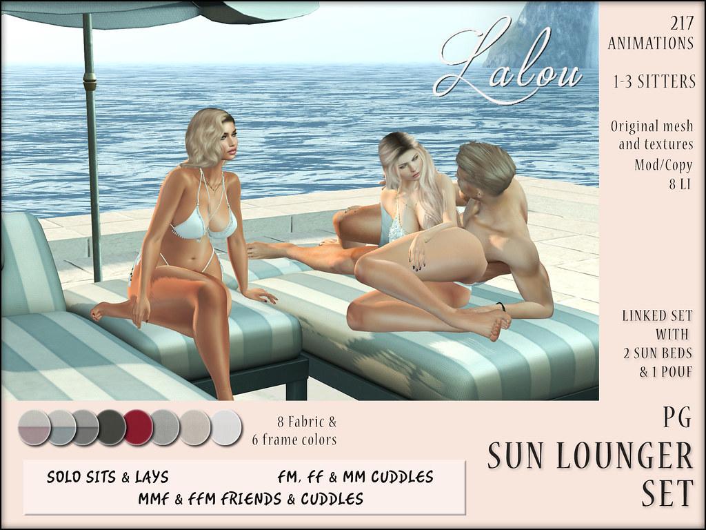 Lalou – Sun Lounger (PG) – Cosmopolitan Event