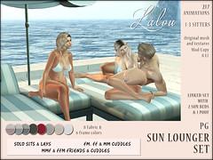 Lalou - Sun Lounger (PG) - Cosmopolitan Event