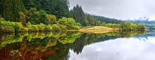 Dornoch Bay, Loch Eck, Scotland..