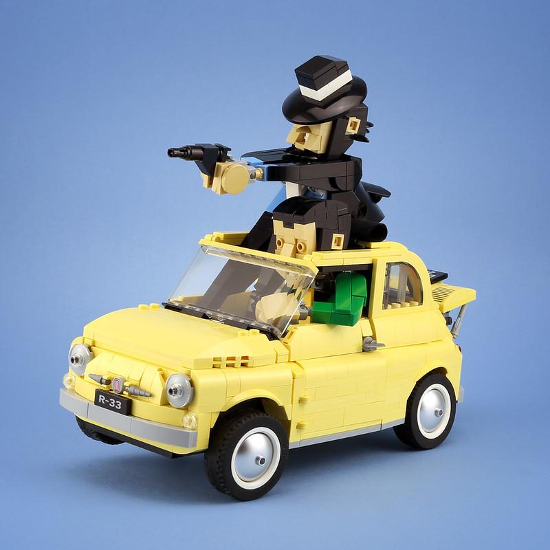 [MOC分享] Lupin III & Fiat