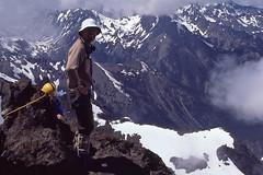 Norm Winn on Mount Constance