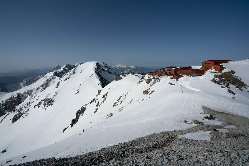 槍ヶ岳の山頂